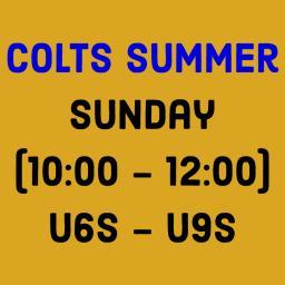 Colts Summer Sunday (10_00 - 12_00) U6s - U9s.png